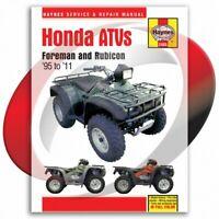 1995-2003 Honda Foreman 400 Haynes Repair Manual 2465 Shop Service Garage