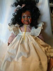 JANADA African American  Doll JANICE BENNETT - IRIS - SIGNED