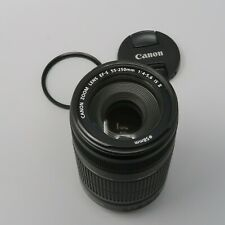 Canon EF-S 55-250mm F/4-5.6 II IS Lens - plus Filter!