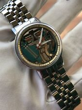 Vintage Watch Orologio Bulova Accutron Spaceview With Bracelet Very Rare