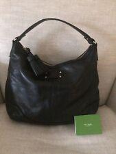Kate Spade Hobo Black Leather Jillian Brooklyn Heights Tassels Large $395, EUC