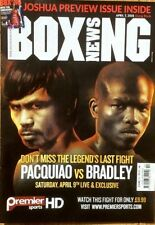 April Boxing Weekly Sports Magazines in English
