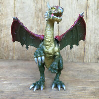 Dragon Mystical Fantasy Large Figure Wings Move KB Toys Jasman Olive Green