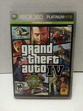Grand Theft Auto iv Xbox 360 Tested & Working Complete with Manual