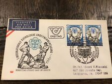 Stamps Austria 🇦🇹 1981, Fdc Sc# 1733 Conference of Catholic Employees