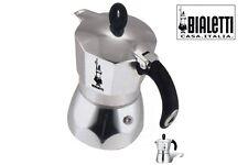 BIALETTI CAFFETTIERA 1 TAZZA NEW DAMA EXPRESS  ALLUMINIO ORIGINALE 8006363021517