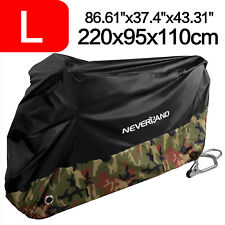 Large Dust Bike Motorcycle Cover Waterproof Outdoor Rain UV Scooter Protector US