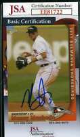 Manny Machado 2011 Delmarvia Rookie Jsa Coa Hand Signed Authentic Autograph