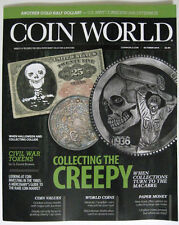 COIN WORLD Magazine October 2014 Collecting The Creepy - Turn To The Macabre