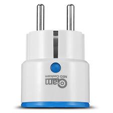 GC00AM NAS-WR01ZE Z-Wave Wireless Smart Socket EU Plug APP Control Timer Alarm
