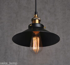 Vintage Industrial Pendant Light Bar Kitchen Restaurant Retro Ceiling Lighting