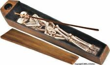 Dead Heads Erotic Eternity Lovers Coffin Casket Box Incense Burner, From USA