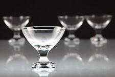 4 Vintage Peill Karat Likörschalen Likörgläser Glas 60er W7C