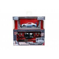 JADA 31288 BUILD N COLLECT 1999 NISSAN SKYLINE GTR R34 2 FAST 2 FURIOUS 1:55