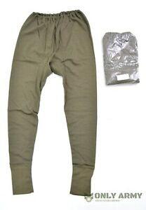 NEW - Dutch Army Thermal Long Johns Cold Weather Bottoms Underwear Base Layer