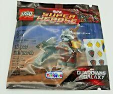 LEGO Rocket Raccoon minifigure polybag 5002145 w/ Baby Groot Toys r Us Exclusive