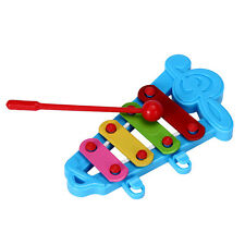 Baby Kid 4-Note Xylophone Musical Toys Wisdom Development BU Useful Gift Xmas