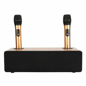 Portable Karaoke Home Audio Set BT 5.0 Speaker System Wireless Microphone