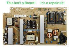 "Repair Kit Capacitors For TV Samsung LN 40"" Power Supply BN44-00417A IV40F1_AHS"