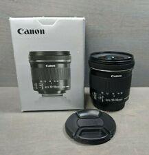 Canon EF-S 10-18mm f/4.5-5.6 AF IS STM Lens