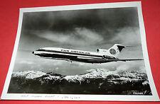 Vtg Pan Am Pan American Airlines Memorabilia PAA Airplane 727 Photo