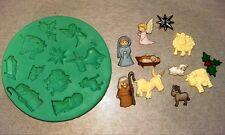 Silicone Mould BIBLICAL CHRISTMAS Sugarcraft Cake Decorating Fondant / fimo mold