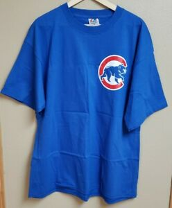 New Men's XXL Majestic T Shirt Chicago Cubs Mark Prior #22