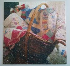 Springbok 2003 Heirloom Quilts 500 Piece Jigsaw Puzzle Complete