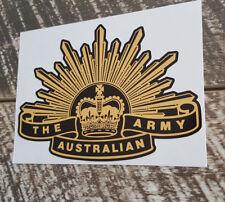 AUSTRALIAN ARMY RISING SUN Decal Sticker seventh pattern Military Patriotic