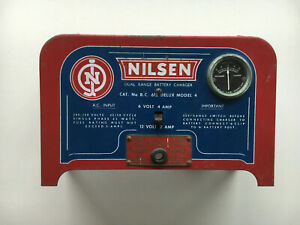 Collectible Display Peice Battery Charger great for mancave Nilsen