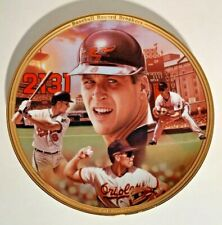Bradford Exchange Cal Ripkin Jr. Record Breakers Plate No 7978F with COA  1995