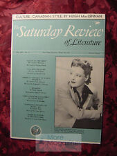Saturday Review March 28 1942 HUGH MACLENNAN CONSTANCE ROBERTSON