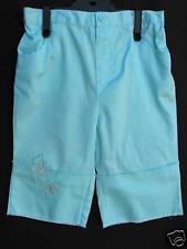 BNWOT Baby Girls Sz 0 Aqua Butterfly 3/4 Summer Pants