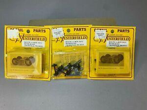4 pair Westerfield ACF archbar truck unassembled kits HO