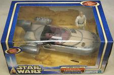 Star Wars Landspeeder W/Luke Skywalker A New Hope Hasbro Toy 2002