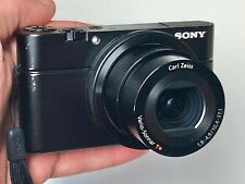 Sony Cyber-shot DSC-RX100 20.2MP Digital Camera w/battery, strap and SD card