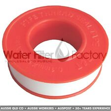 Teflon Plumbers Thread Tape | Stop Water Filter Fitting Leaks | 1x 15 Meter Roll