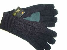 ISOTONER 3M Thinsulate Ultra Insulation Winter Black Gloves One Size G177