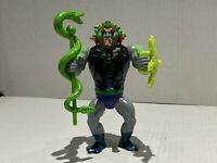 1986 Masters Of The Universe Snake Face Malaysia 100% Complete Motu Motuc