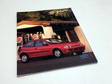 1998 Chevrolet Metro Brochure