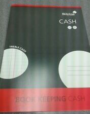 SILVINE A4 ACCOUNTS BOOK KEEPING CASH
