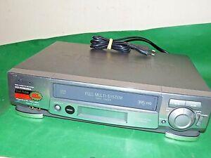 HITACHI VT-MX4080EM VCR VHS VIDEO CASSETTE RECORDER Vintage Full Multi-System