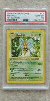 Pokemon Beedrill 17/102 1st Edition Base Set PSA 10 1999 Pokemon Game Shadowless