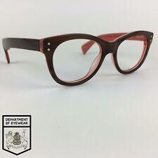 WILLIAM MORRIS eyeglasses BROWN HORN EFFECT ROUND glasses frame MOD: WM9055