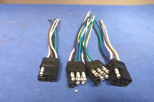 Meyer E46,E47,E60 Snow  Plow Light Plug Rebuilding Kit,Factory Molded Ends,NEW