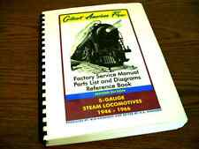 Gilbert American Flyer - Steam Locomotive Factory - Reference Book - S-Gauge