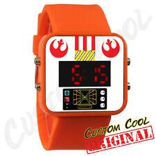 Star Wars X-wing Pilot Themed LED Digital Watch