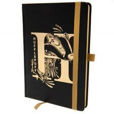 Harry Potter Premium Foil Notebook Hufflepuff Official Merchandise