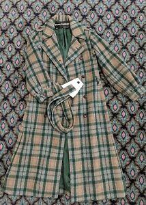 Vintage woolAlpaca coat /'90 by Pierre Cardin Cod 12-01