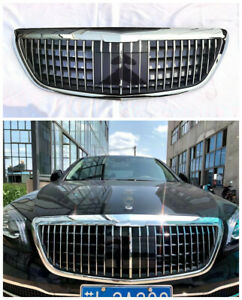 Car Front Grille For Mercedes Benz S class W222 Maybach Style With ACC S65 S63